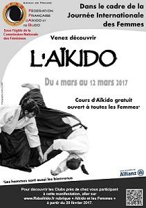 """CORPS Aikido - Vénissieux - Journée Internationale des Femmes 2017 à l""""Aïkido"""