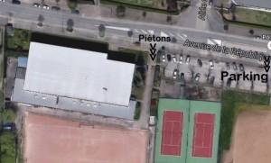 CORPS Aïkido - venir pratiquer - salle Maurice METRAT avec circulation